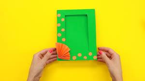 Как сделать прикольную фото рамку своими руками за <b>5</b> минут ...
