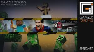 youtube gaming channel art.  Channel Gaming Youtube Channel Art Free Pack Download  MrGamzeru0027s  Photoshop CS Speed  YouTube Throughout Y