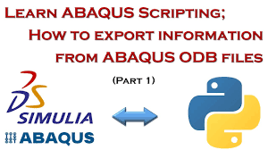 Learn ABAQUS Scripting; Export Results Automatically from ODB Files ...