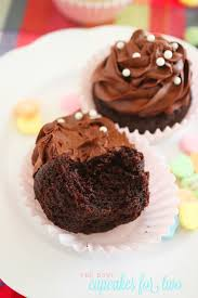 Quick Nutella Icing Recipe One Bowl Chocolate Cupcakes For Two