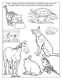 Small Picture Coloring Pages Of Animals Dogs Coloring Pages