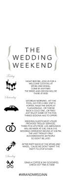 best 25 wedding weekend itinerary ideas on pinterest wedding Wedding Week Itinerary Template wedding door hanger wedding itinerary wedding weekend by lcoonetsy wedding week itinerary template design