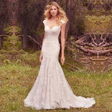 Discount Vintage Short High Low Beach Wedding Dresses 2016 Full Vintage Country Style Wedding Dresses