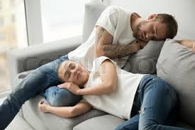 comfortable couches to sleep on. Brilliant Sleep Relaxed Young Couple Resting Sleeping On Comfortable Sofa Together Tired  Lazy Man And Woman Asleep Having Pleasant Nap Repose Daytime Soft Couch  Intended Comfortable Couches To Sleep On F