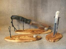 Knife Display Stands Classy Foldoing Knives