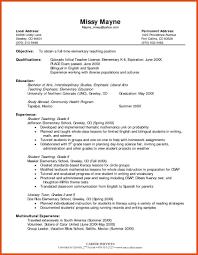 Resume For School Teaching Job In India Elegant Resume Format For