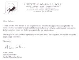 ollie s treasure rejection letter cricket john rea hedrick ollie s treasure rejection letter