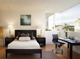 home office bedroom ideas. Bedroom Sweat Modern Bed Home Office Room Design Ideas With Nice