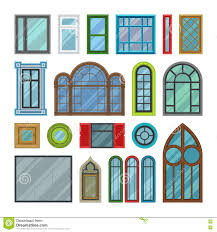 house window clipart. Interesting Clipart Different House Windows Vector Elements In House Window Clipart W