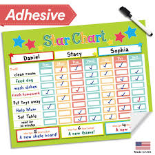 Multiple Child Chore Chart