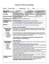 Soapstone Chart Lesson Plans Worksheets Reviewed By Teachers