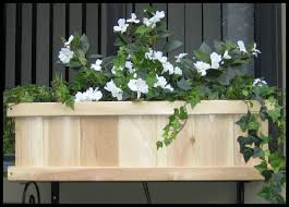 Cedar Tonge and Groove Window Boxes ...