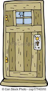 wooden door clipart. Interesting Door Cartoon Old Wood Door  Csp17740310 Intended Wooden Door Clipart O