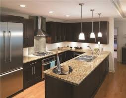 U Shaped Kitchen Designs With Island Awesome Decoration