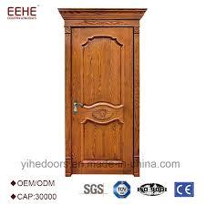 china single solid teak wood main panel door design china teak wood door design wooden single main door design