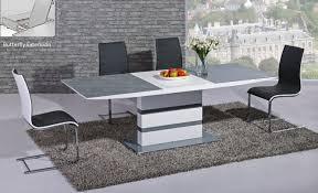 grey uamp chrome dining