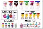 acrylic drinkware