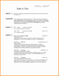 7 Computer Science Resume Template How To Make A Cv