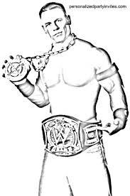 Wwe John Cena Free Coloring Pages On Art Coloring Pages