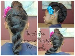Twist Hairstyles For Boys Twistnbun Protective Hairstyle Kid Friendly Youtube