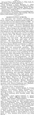 Papers Past | Newspapers | Otago Daily Times | 16 December 1882 | THE  BREAKING UP OF THE SCHOOLS.