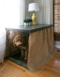 DIY DOG KENNEL TABLE TOP