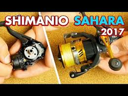 Новинка <b>Shimano Sahara</b> 17 обзор и сравнение с Sedona и Nasci ...
