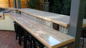 cool concrete countertops concrete cast in place forms commercial bar large square edge concrete countertop cost estimate concrete countertop sealer