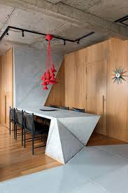 modern track lighting. Funky-dining-table-design-picture-feat-black-chairs-and-modern-track- Lighting-plus-wooden-interior-wall-idea Modern Track Lighting S
