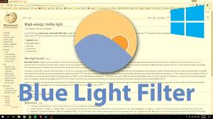 Blue Light Filter Windows Phone How To Turn On Blue Light Filter In Windows 7 8 10