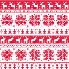 Christmas Pattern Delectable Christmas Patterns Vector Set 48 Free Download