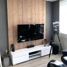 tv wall design simple grey painted and wood wall ideas tv wall design with tiles