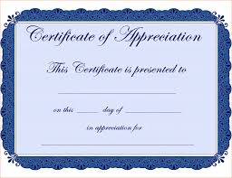 Free Template Certificate 24 Certificate Of Appreciation Template Free Teknoswitch 23