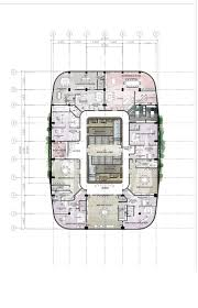 office layout floor plan. Design 8 / Proposed Corporate Office Building High-rise Architectural Layouts Layout Floor Plan