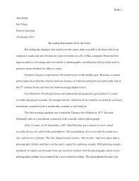 3 day essay letter