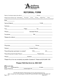 Referral Forms Templates Student Referral Form Template School Referral Form Template 217982
