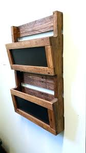 image of wood wall file organizer decorative mail rustic