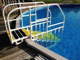Above Ground Pool Steps for Handicap JBURGH HomesJBURGH Homes