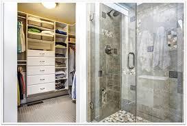 frameless glass shower door with knee