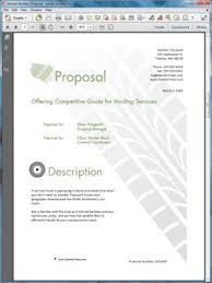 46 Best Sample Service Sales Proposals Images Marriage Proposals