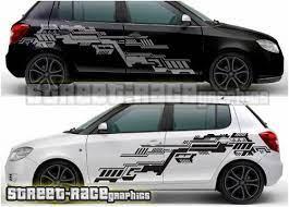 Skoda Fabia Rally Racing Graphics Stickers From Www Street Race Org Skoda Skoda Fabia Car Graphics Decals