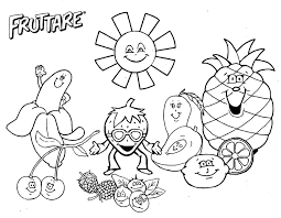 Fun Fruit Coloring Pages 2019 Open Coloring Pages