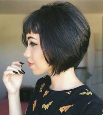 Black Bob Hair Style 10 chic short bob haircuts that balance your face shape short 6221 by stevesalt.us