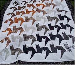 So loving this cat quilt. I love the use of the negative space to ... & So loving this cat quilt. I love the use of the negative space to also Adamdwight.com