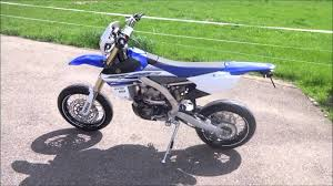 yamaha wr 450 f 2016 monobike supermoto from switzerland youtube