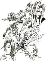 Coloring Pages Final Fantasy Morning Kids