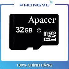 Thẻ nhớ Micro UHS1 32GB Apacer (Class 10) - Bảo hành 12 tháng