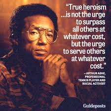 Arthur Ashe Quotes. QuotesGram via Relatably.com