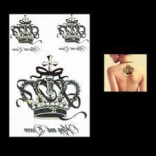 1 предмет мода корона цветок рука рукав водонепроницаемый временные татуировки