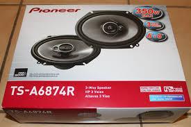 pioneer 6x8 speakers. pioneer ts-a6874r 6x8 3-way coaxial car speaker review speakers